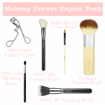 Makeup Drawer Staples – Tools