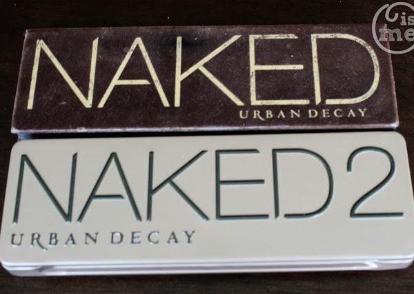 Urban Decay Naked vs. Naked 2