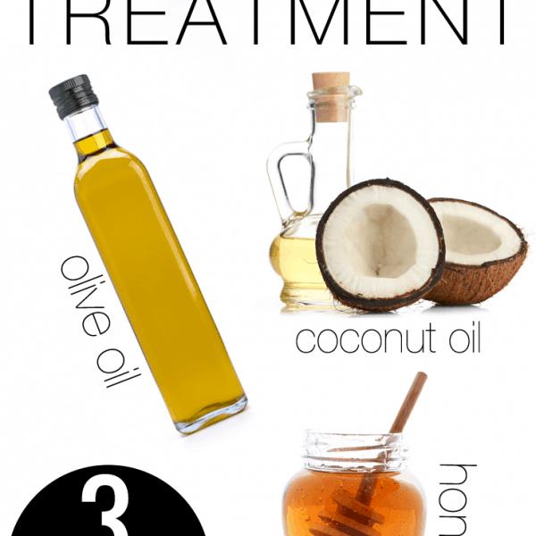 DIY All Natural Hot Oil Hair Treatment