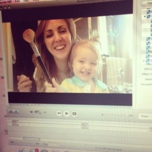 Beauty Vlog with Toddler