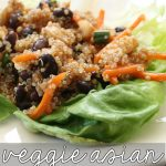 Clean Eating Veggie Asian Lettuce Wraps