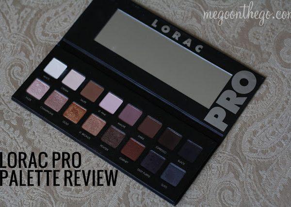 Lorac Pro Palette Review