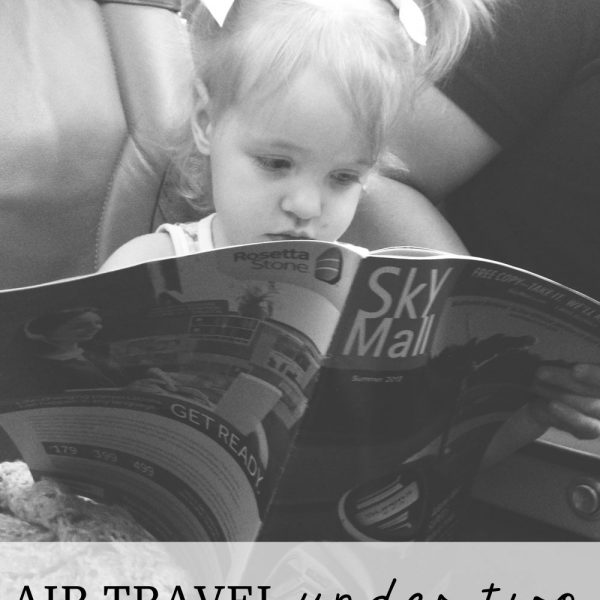 Air Travel Under 2 (It's really not that bad!)