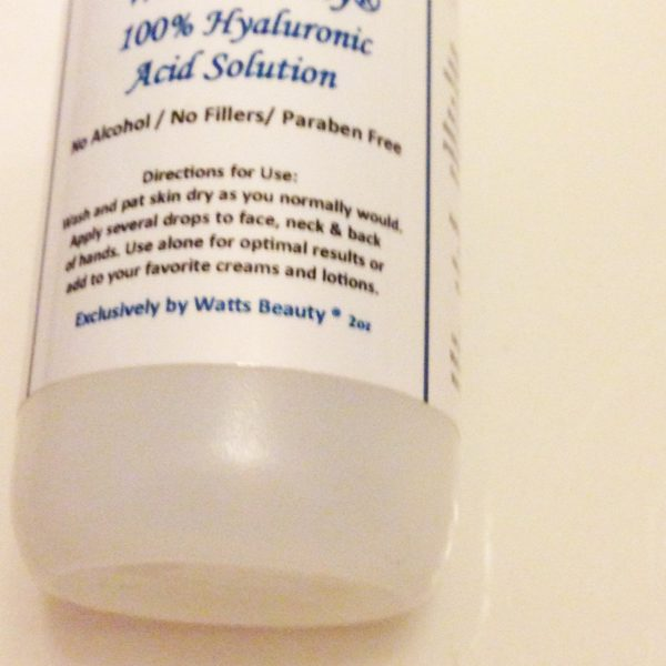 Skincare Sunday – Hyaluronic Acid