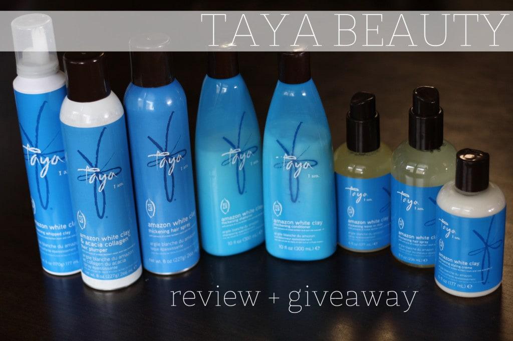 Taya Beauty Review + Giveaway