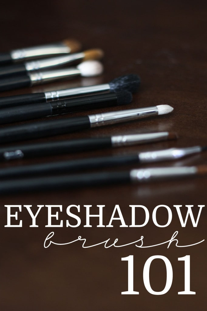 Eyeshadow Brush 101