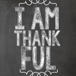 I am Thankful.