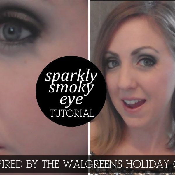 Sparkly Smoky Eye Tutorial Inspired by the Walgreens Holiday Guide