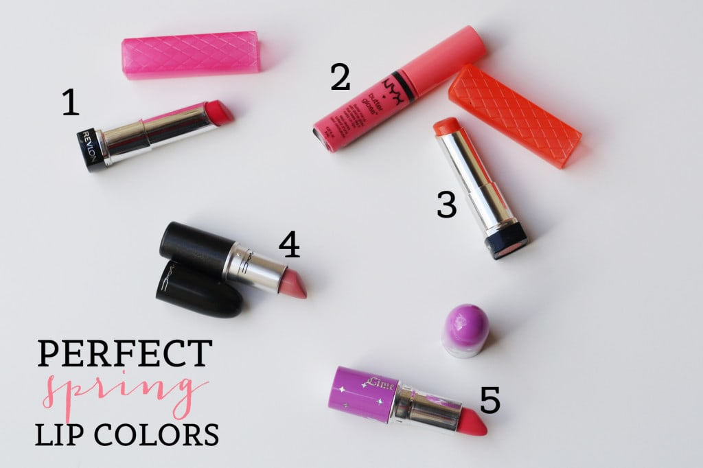 Perfect Spring Lip Colors