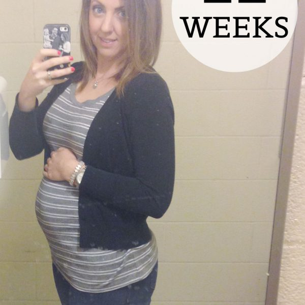 Preggo Meg O. – 22 Weeks!