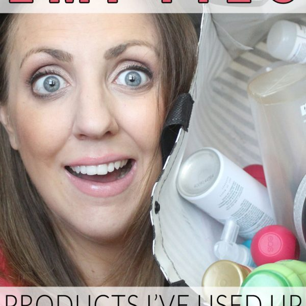 Empties! Products I've Used Up (July 2014)