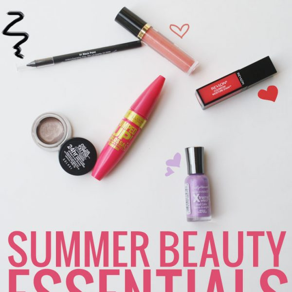 Drugstore Summer Beauty Essentials with Walgreens