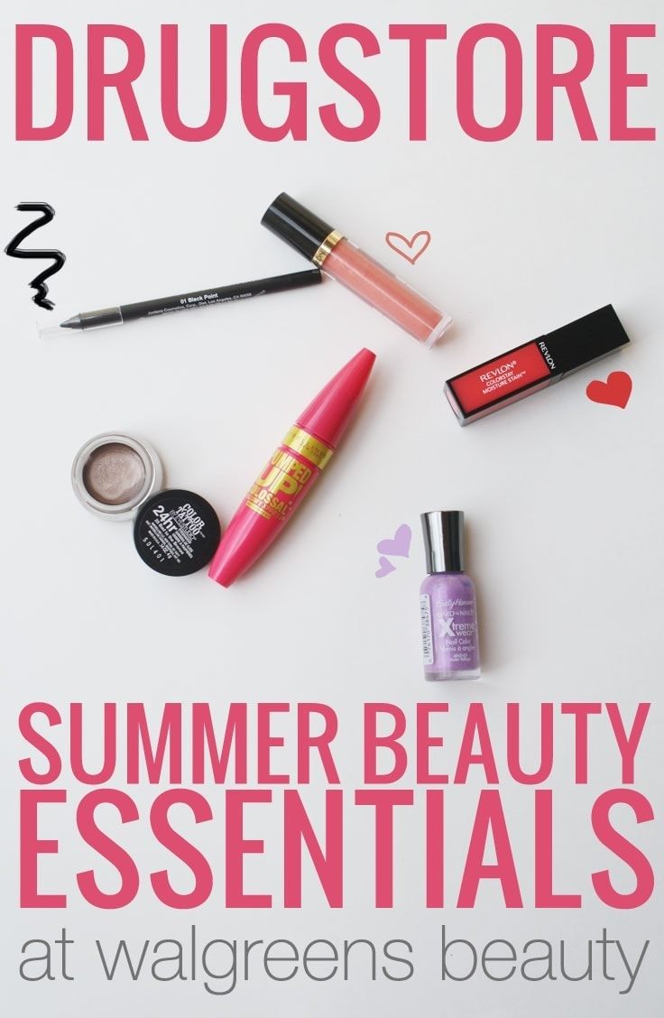 Drugstore Summer Beauty Essentials at Walgreens