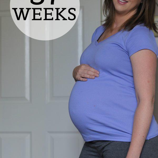 Preggo Meg O. – 37 Weeks!