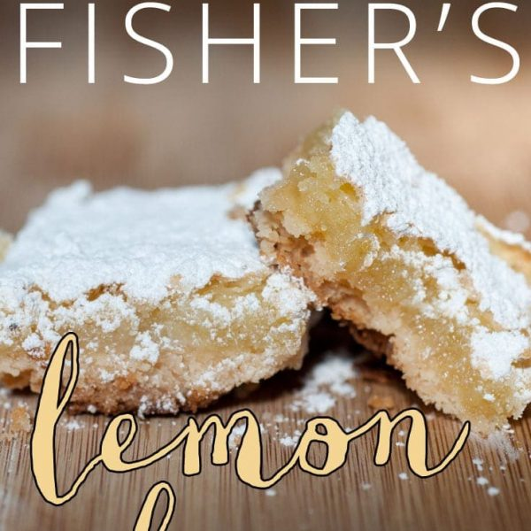 Grandma Fisher's Lemon Bars Adapted By Anne