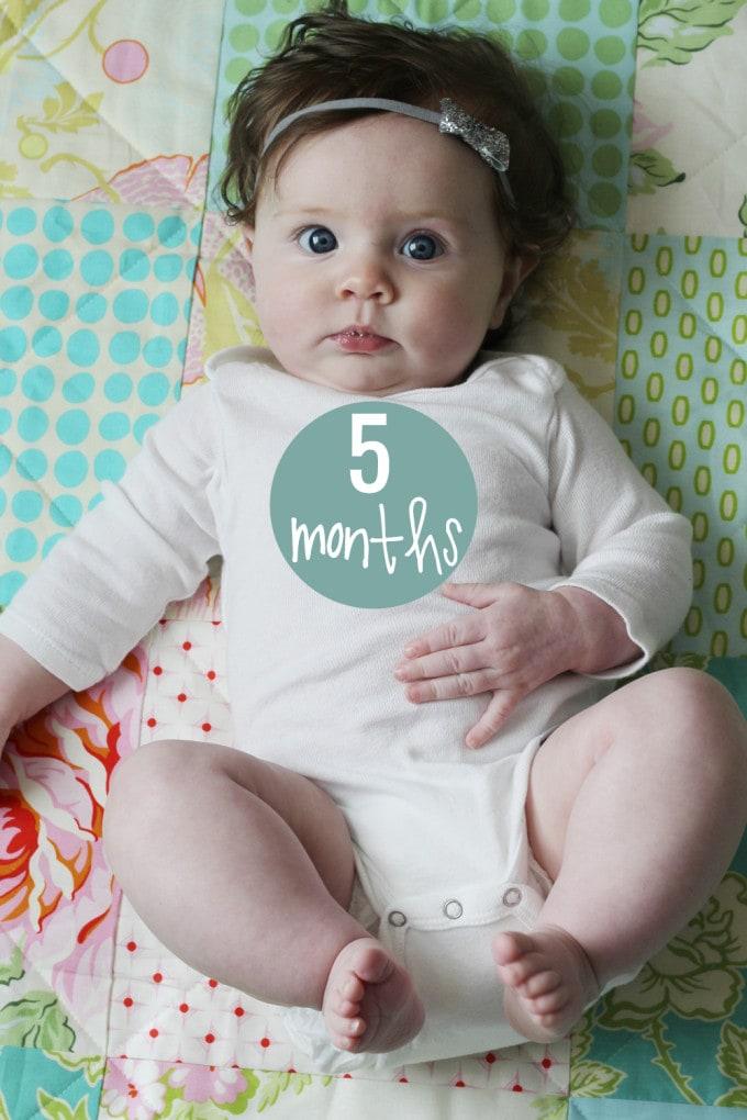 Caroline 5 Months Old