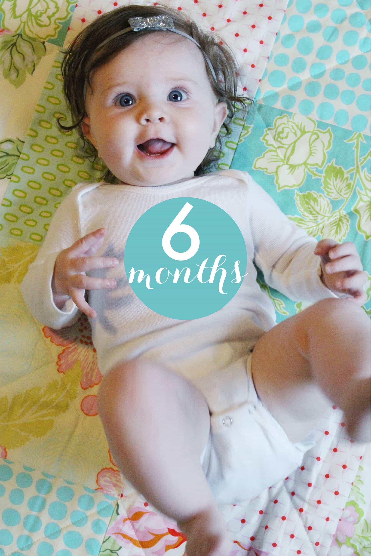 Caroline 6 months old