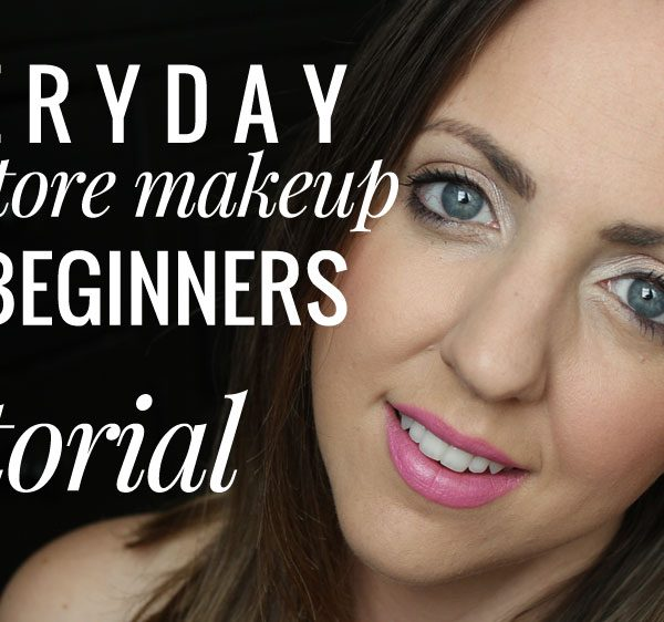 Everyday Drugstore Makeup for Beginners (Tutorial)