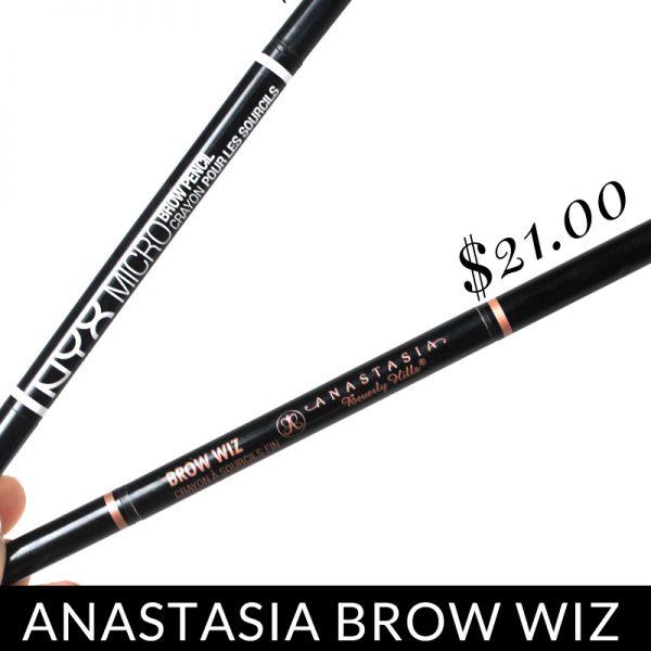 NYX Micro Brow: Anastasia Brow Wiz Dupe?