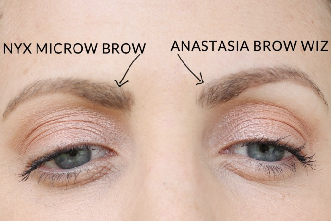 Anastasia Brow Wiz Dupe Nyx Micro Brow Beauty