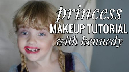 Hilarious toddler makeup tutorial!