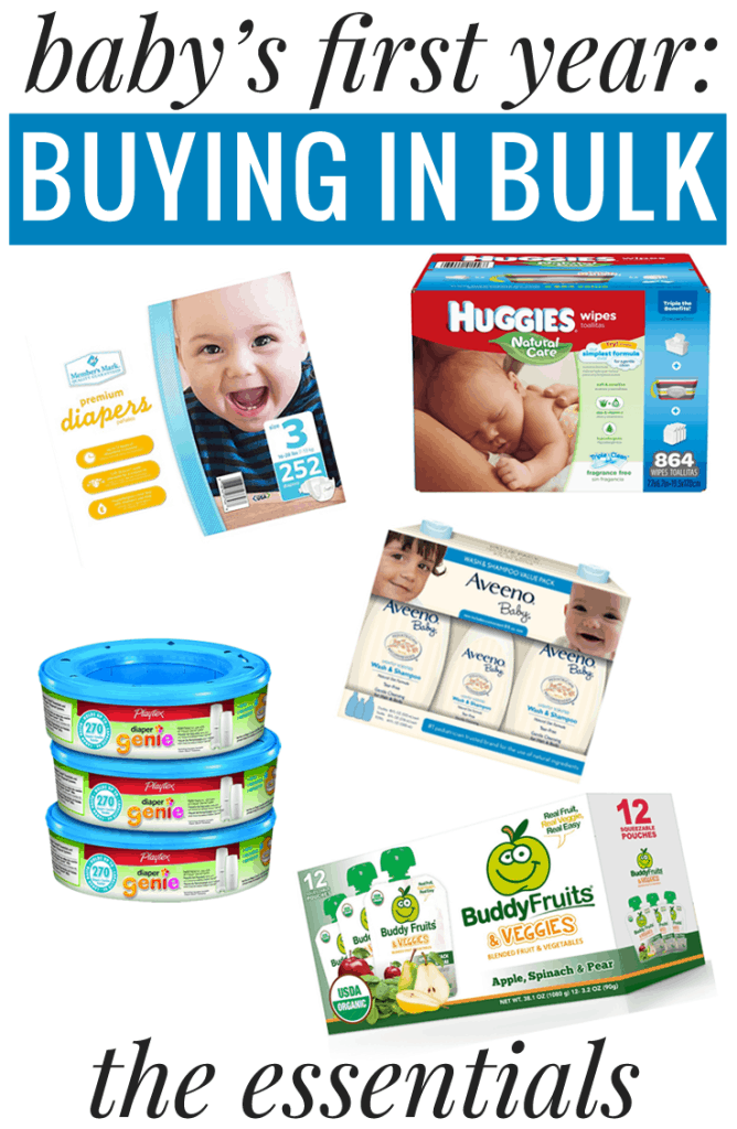 What products are really worth buying in bulk for baby?