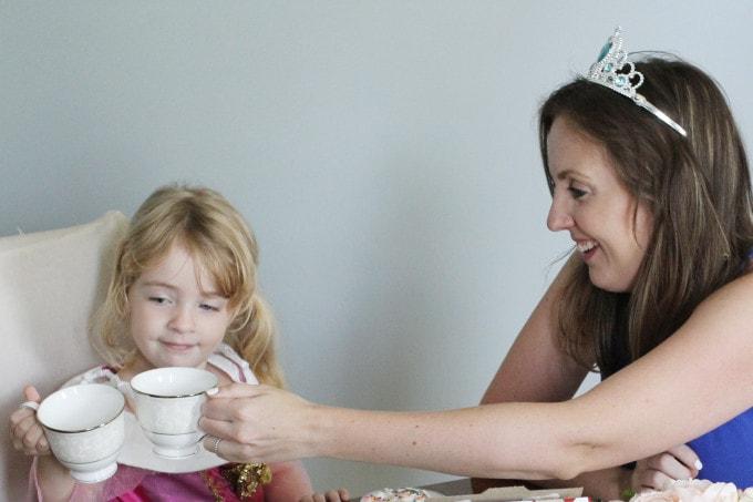 Mother Daughter Princess Tea Party