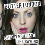 Butter London Bloody Brilliant Lip Crayon Swatches + Giveaway!