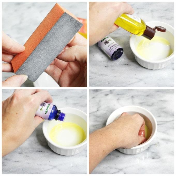 At Home Nail Soak Instructions