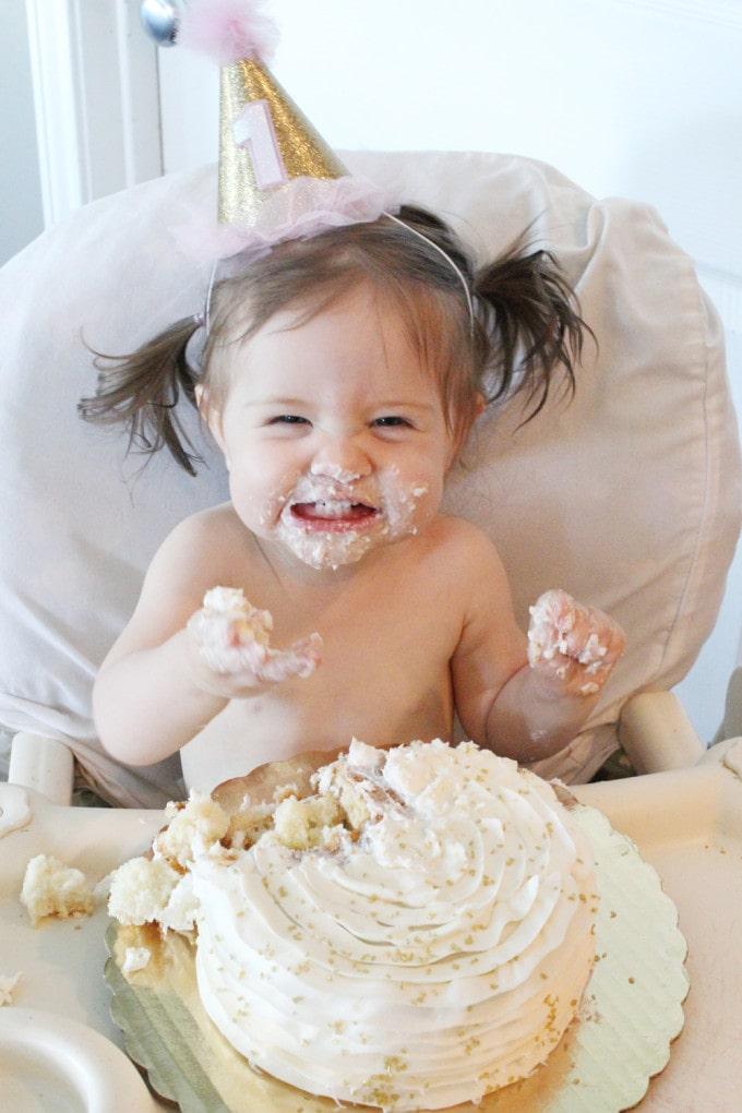 Caroline Cake Smash