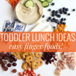 Easy Toddler Lunch Ideas