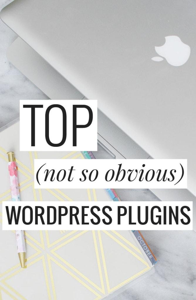 Top (not so obvious) WordPress Plugins