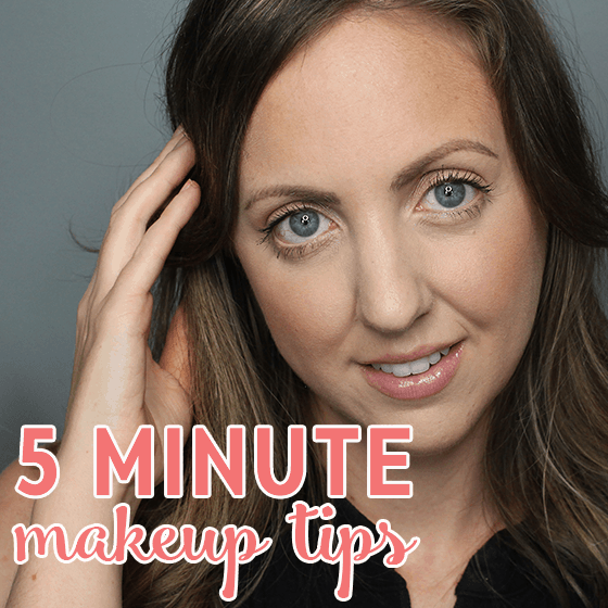 Five Minute Makeup Tips