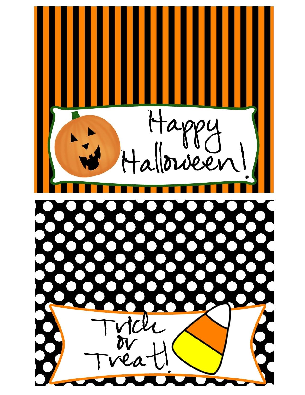 Halloween Snack Mix + Treat Bag Printables