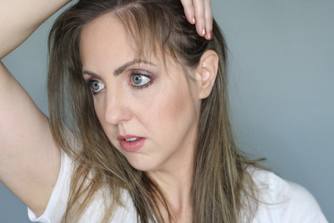 New mothers may all face this - hair loss after pregnancy. What can you do to ease the inevitable? Popular Beauty Blogger Meg O on the Go shares how she deals with hair loss after pregnancy.