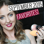 September 2015 Favorites!