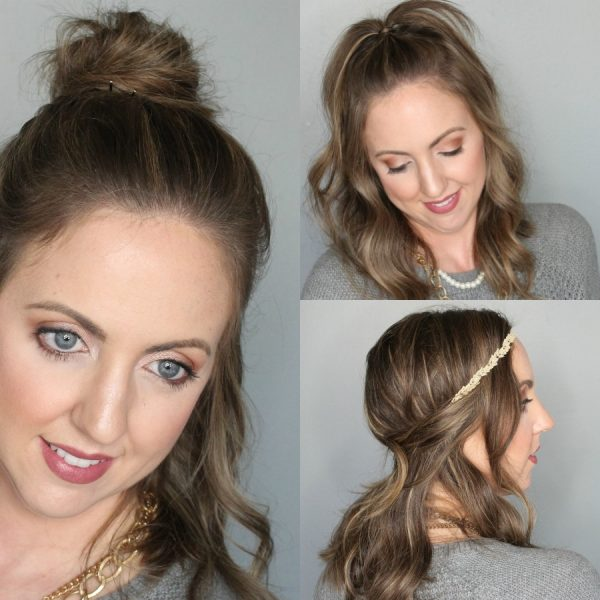 3 Easy (on trend!) Hairstyles