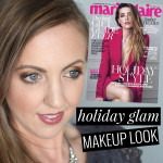 Holiday Makeup Look Inspired by the December Marie Claire Cover