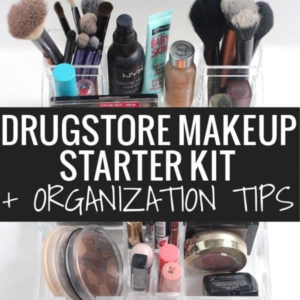 Drugstore Makeup Starter Kit + Organization Tips with Caboodles