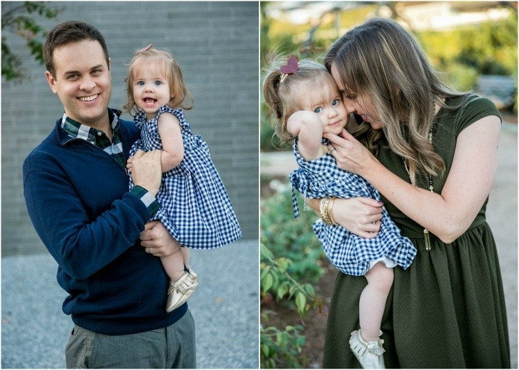 Natural and chic family photos