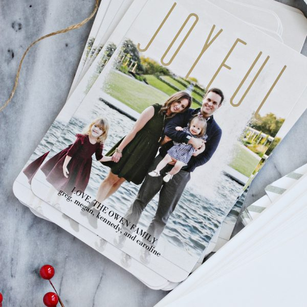 Our 2015 Christmas Cards With Tiny Prints + $100 Giveaway