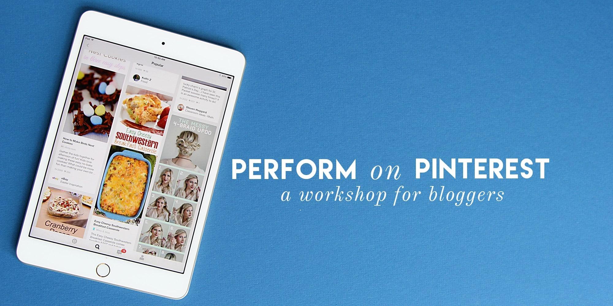 Perform on Pinterest