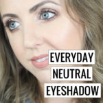 Everyday Neutral Eyeshadow Look