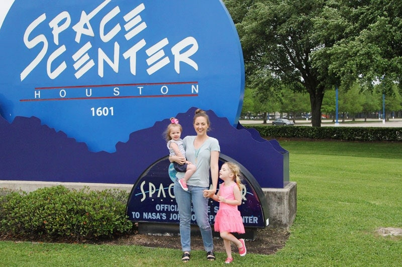 Playing Texas tourists in our own town - hanging out at Space Center Houston