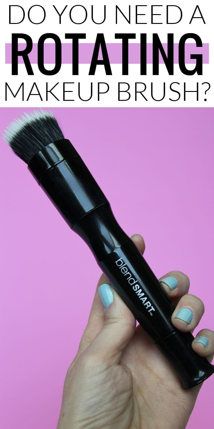Do you need a rotating makeup brush? Come check out my full review of the blendSMART automated makeup brush system!