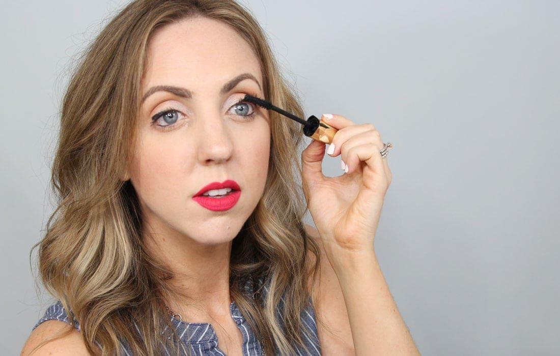Sweat proof beauty tips - waterproof mascara is your best friend!