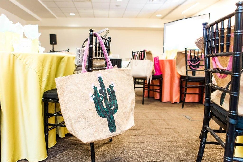 Francesca's tote bag