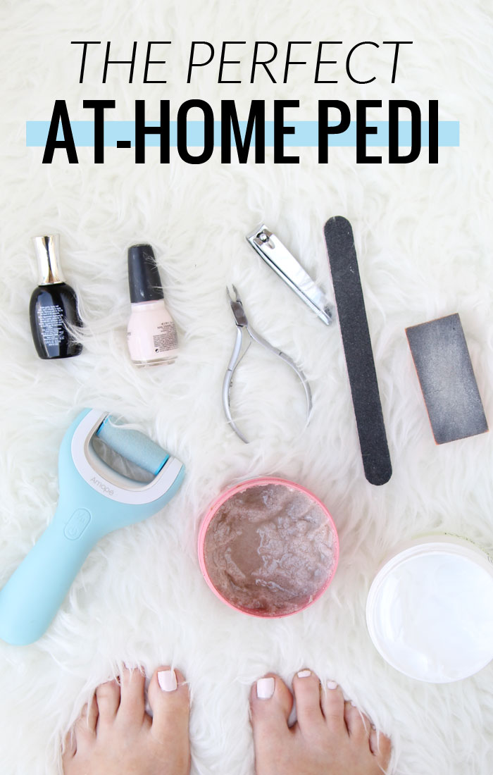 How to have the perfect at-home pedicure - It's so much easier than you thought! #DoYouAmope #AmopeCrowd #ad
