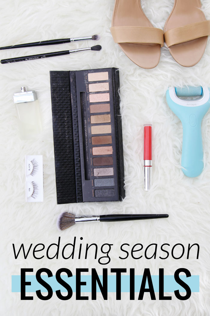 List of beauty and fashion essentials for wedding season. Look and feel great as a wedding guest! #DoYouAmope #AmopeCrowd #ad