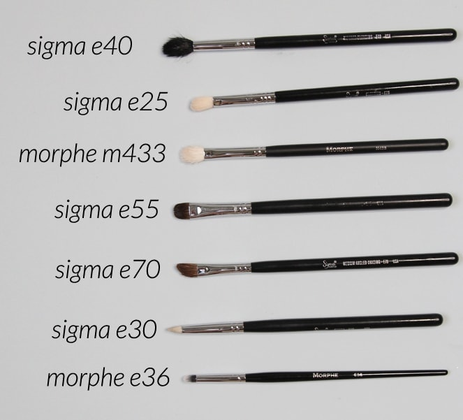the best eye makeup brushes for travel - everything you'll need!